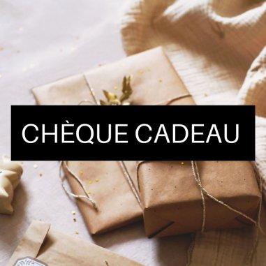 Chèque cadeau pour offrir ou se faire plaisir