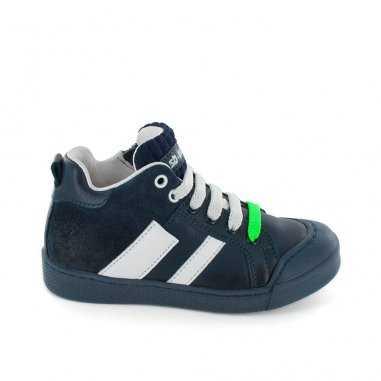 Chaussures marine pour enfants de la marque Stones and Bones