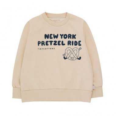 Sweatshirt crème pour enfants de la marque Tinycottons