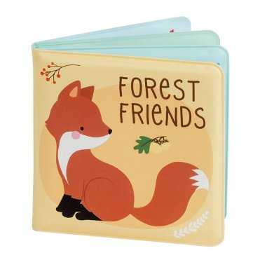 Livre de bain forêt pour bébés de la marque A little lovely company