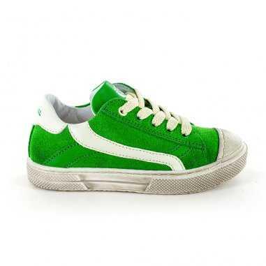 Chaussures de couleur verte pour enfants de la marque Stones and Bones