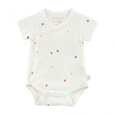 Body blanc ice cream pour bébés de la marque Tinycottons