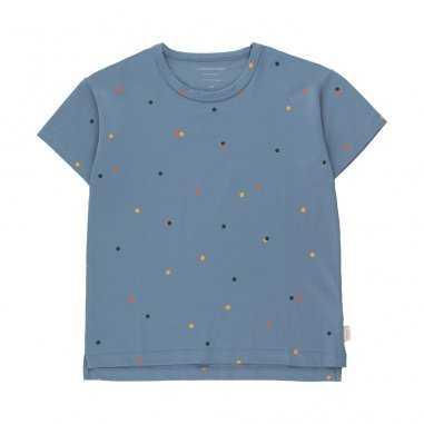 Tee-shirt de couleur bleu ice cream pour enfants de la marque Tinycottons