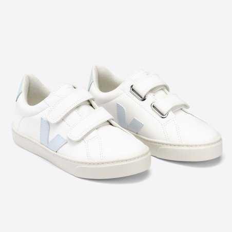 Sneakers pour enfants Veja de couleur menthol