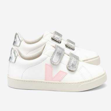 Sneakers Veja esplar de couleur silver pour enfants de la marque Veja