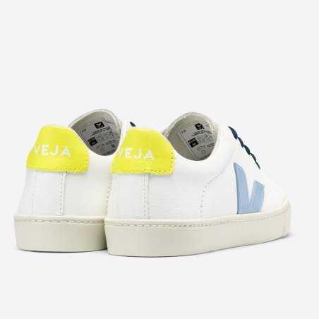 Sneakers pour enfants jaune fluo de la marque Veja