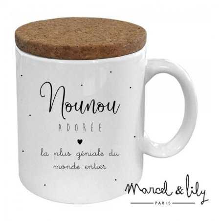 Mug nounou adorée de la marque Marcel et Lily