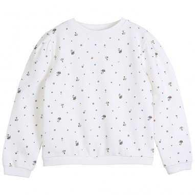 Sweatshirt pensées bleues pour enfants de la marque Emile et Ida
