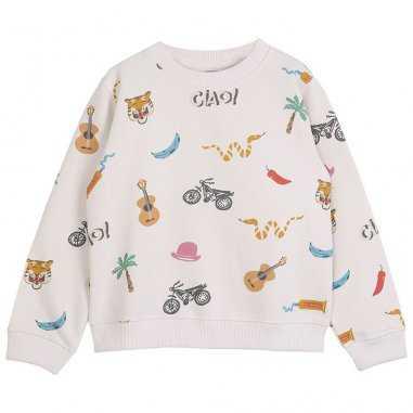 Sweatshirt india pour enfants de la marque Emile et Ida