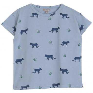 Tee-shirt tigre pour enfants de la marque Emile et Ida