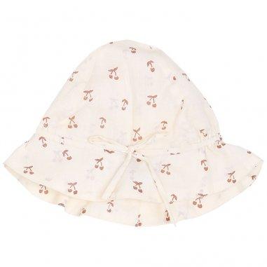 Chapeau à imprimés cerisette pour bébés de la marque Emile et Ida