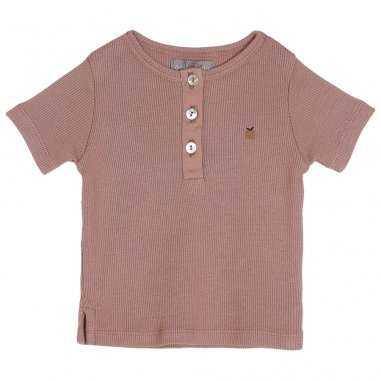 Tee-shirt de couleur terre pour bébés de la marque Emile et Ida