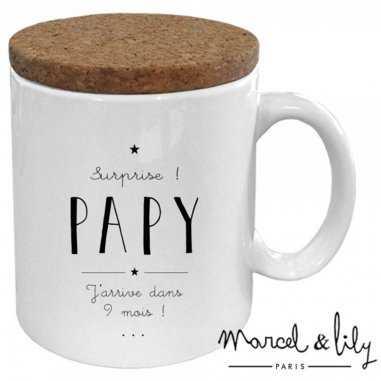 Mug surprise papy de la marque Marcel et Lily