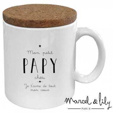 Mug mon petit papy de la marque Marcel et Lily