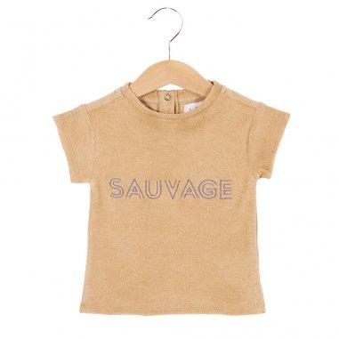 Tee-shirt en éponge sauvage pour enfants de la marque Les Petites Choses