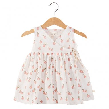 Robe mandarine pour enfants de la marque Les Petites Choses
