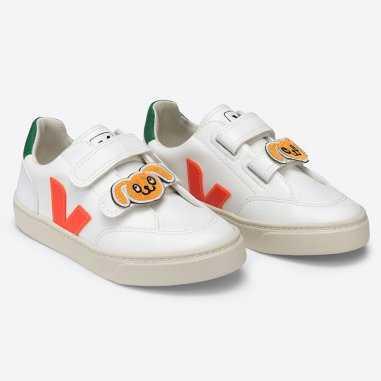 Sneakers pour enfants de la collaboration Veja x Mini Rodini