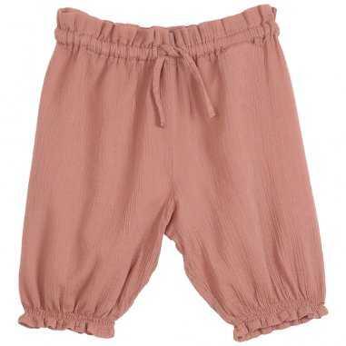 Pantalon de couleur rose terre pour bébés de la marque Emile et Ida