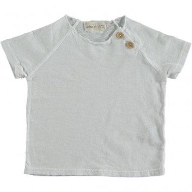 Tee-shirt de couleur blanc pour enfants Bean's Barcelona