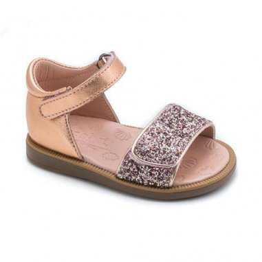 Sandales nude pour enfants de la marque Acebos