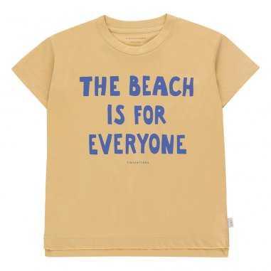 Tee-shirt The Beach is for everyone pour enfants de la marque Tinycottons