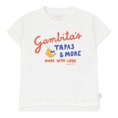 Tee-shirt gambitas pour enfants de la marque Tinycottons