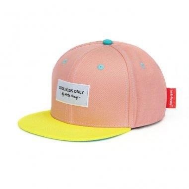 Casquette mini pink pour enfants Hello Hossy