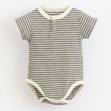 Body à rayures pour bébés de la marque Play up