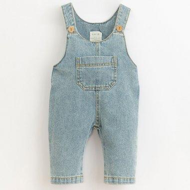Salopette en jean pour bébés de la marque Play up