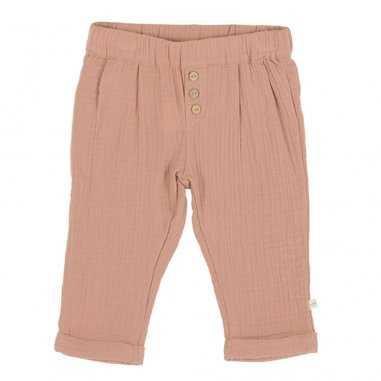 Pantalon en gaze de coton cannelle pour enfants de la marque Les Petites Choses