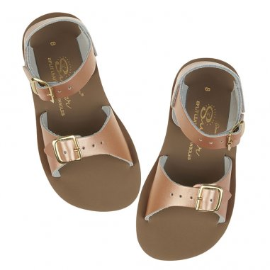 Sandales waterproof de couleur rose gold pour enfants Salt-Water