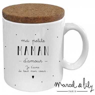 Mug ma petite maman d'amour de la marque Marcel et Lily