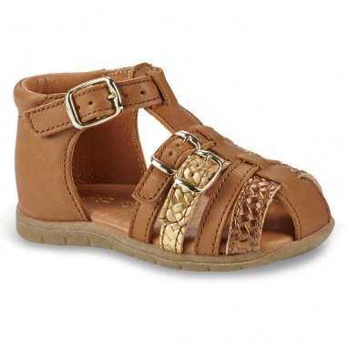 Sandales camel pour enfants GBB