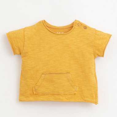 Tee-shirt de couleur jaune pour bébés Play Up
