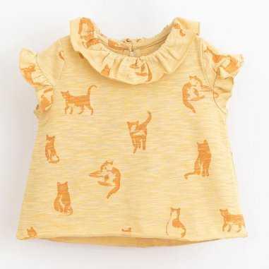 Débardeur chat pour bébés de la marque Play Up