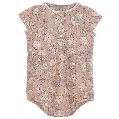 Barboteuse rose pour bébés de la marque Emile et Ida