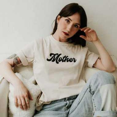 Tee-shirt d'allaitement mother de la marque French Muses