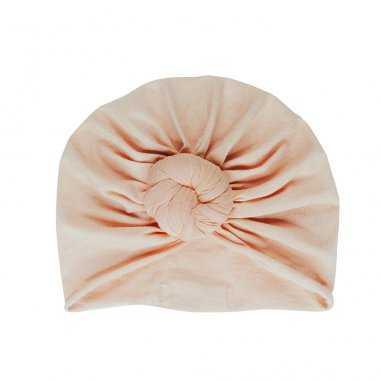 Turban beanie perfect nude pour bébés de la marque Bonjour Little