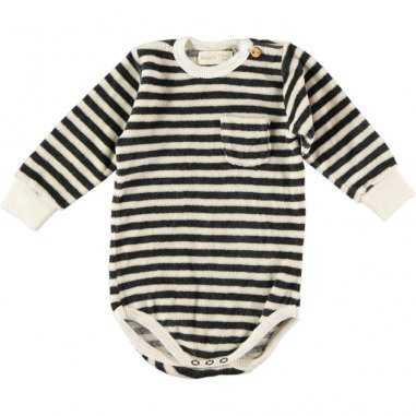 Body à rayures pour bébés de la marque Bean's Barcelona