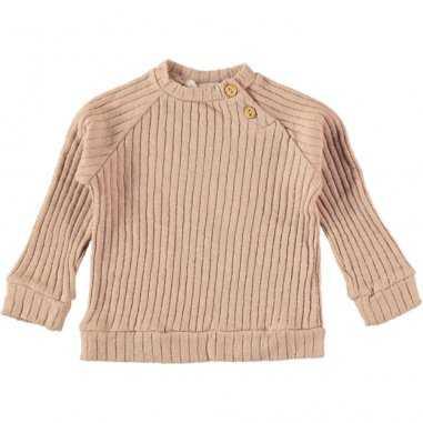 Sweatshirt rose pour enfants de la collection Bean's Barcelona