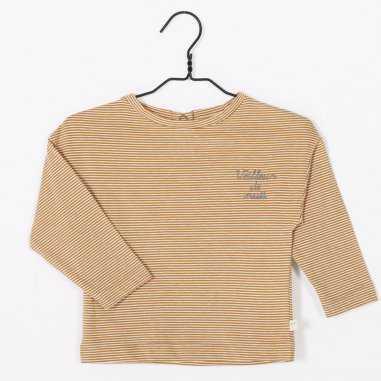 tee-shirt veilleur de nuit gold pour enfants de la marque Les Petites Choses