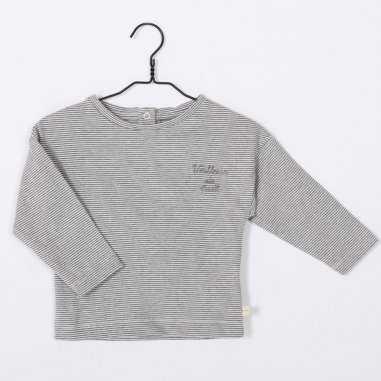 Tee-shirt veilleur de nuit gris pour enfants de la marque Les petites choses