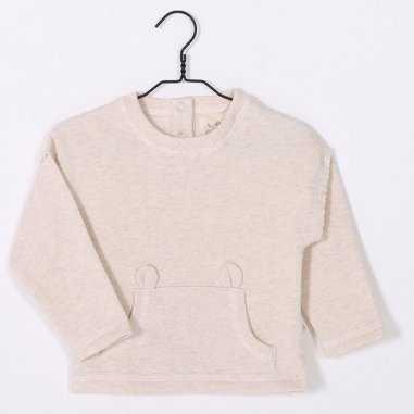 Sweatshirt crème pour enfants de la marque Les Petites Choses