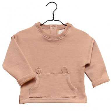 Sweatshirt rose sable pour enfants de la marque Les Petites Choses