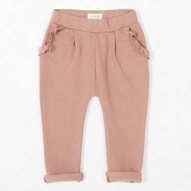 Pantalon rose sable pour enfants de la marque Les Petites Choses