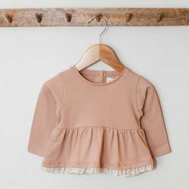 Blouse rose sable pour enfants de la marque Les Petites Choses