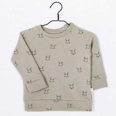Sweatshirt lapin argile pour enfants de la marque Les petites choses