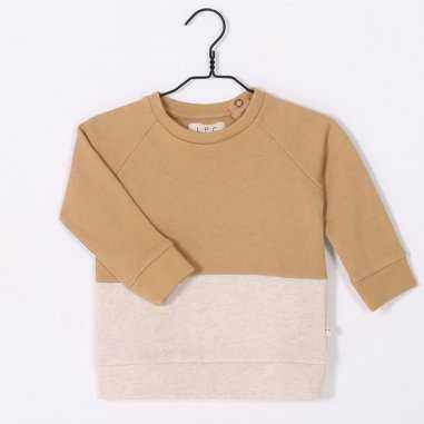Sweatshirt gold crème pour enfants de la marque Les petites choses