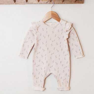 Combinaison feuilles d'or pour bébés de la marque Les Petites Choses