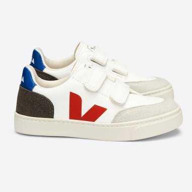 Sneakers V12 pour enfants de la marque VEJA